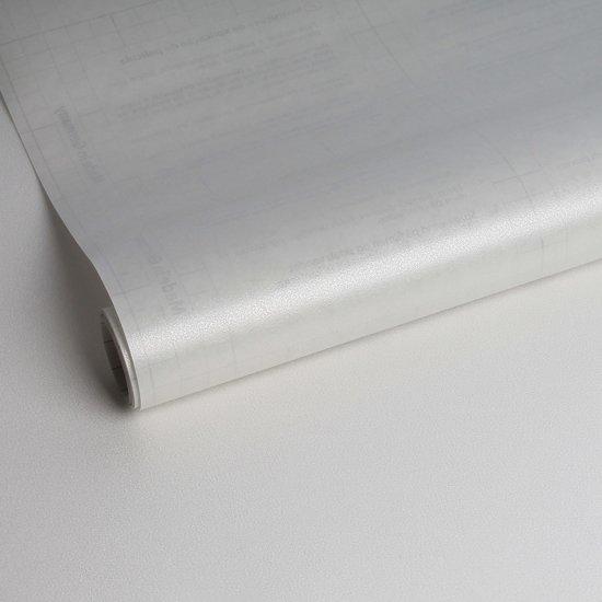 Statische raamfolie milky 67 5x150 cm for Plakplastic raam