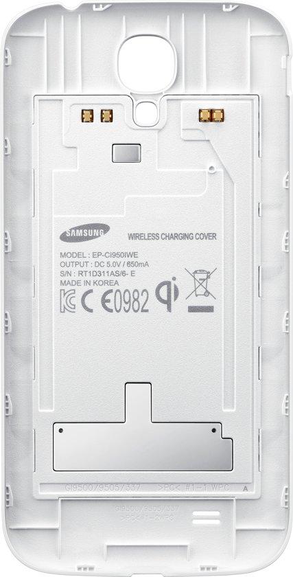 Samsung Wireless Qi Charging Case voor Galaxy S4 - Wit