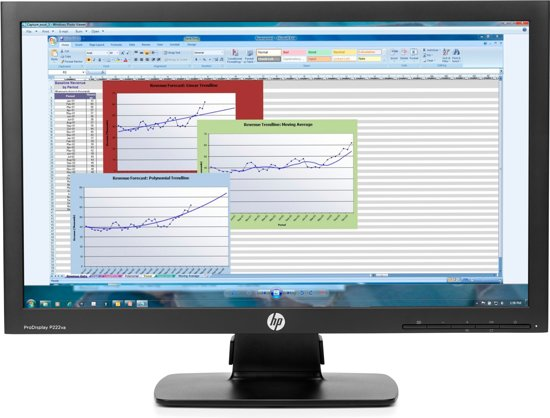 HP ProDisplay P222va 21.5