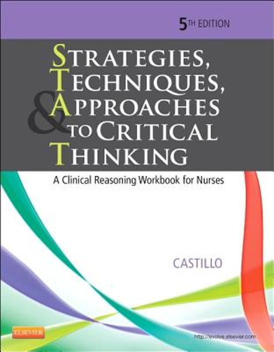 critical thinking nurses scenarios