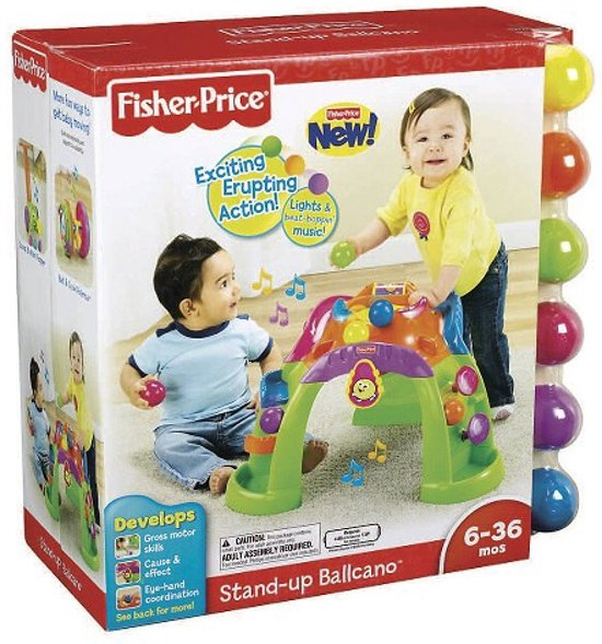 Fisher-Price Stand Up Ballcano in Agelo
