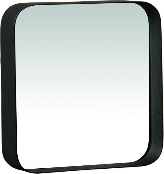 Pomax kelly spiegel vierkant metaal 25x25x5 cm zwart kopen isbn 5414780164794 - Metalen spiegel ...
