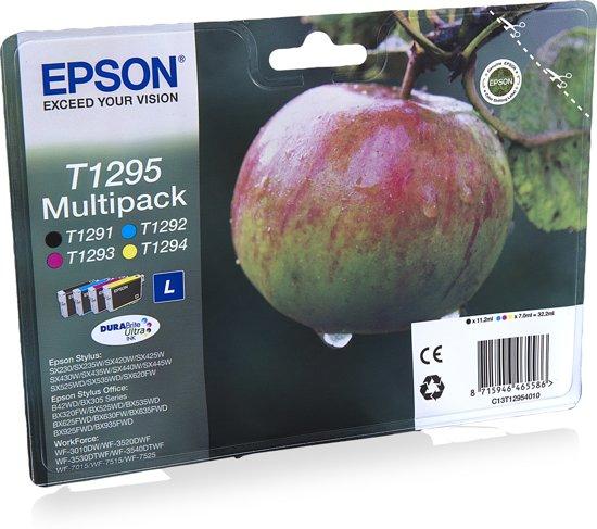 Epson T1295 - Inktcartridge / Cyaan / Magenta / Geel / Zwart