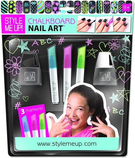 Style Me Up Chalkb Nail Art