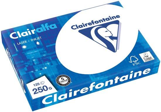 CLAIRALFA PAPIER A4 250G 125V