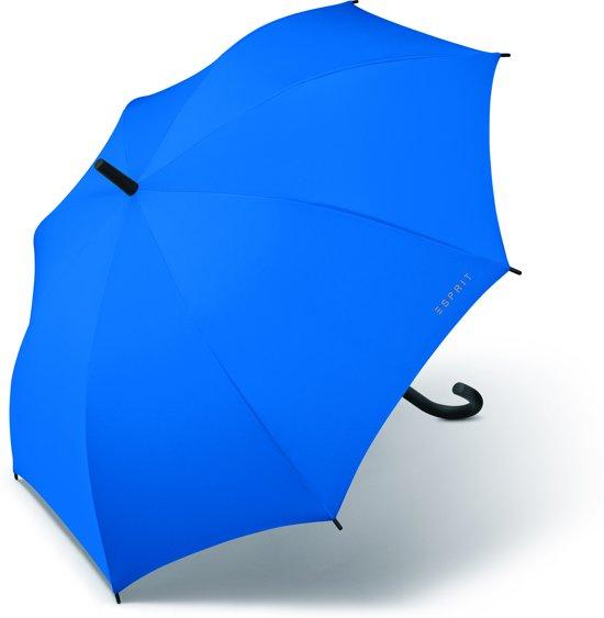 Esprit Paraplu - Long AC - Blauw -105 cm in Zelhem