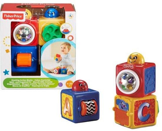Fisher-Price Baby Stapelblokken - 3 Stuks