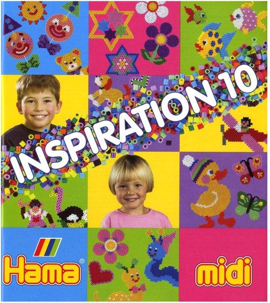 Hama Strijkkralen Voorbeeldenboekje 'Nummer 10' in Les Avins