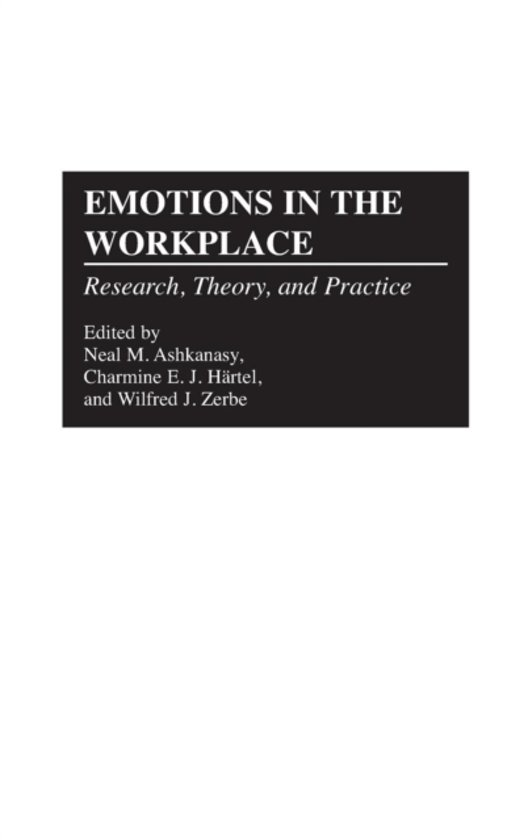 emotions of work place It is all too easy for situations to become emotionally charged in the workplace  one cross word, bad mood or mishandled situation can damage a relationship.
