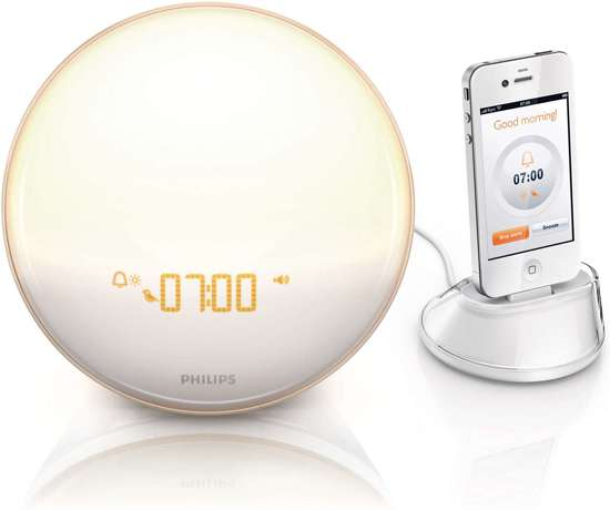 Philips HF3550 - Wake-up light - Wit