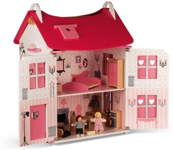 Janod Keuken Roze : bol.com Janod Poppenhuis Mademoiselle – 17 Accessoires Speelgoed