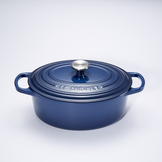 le creuset signature braadpan 4 7 liter 29 cm ink. Black Bedroom Furniture Sets. Home Design Ideas