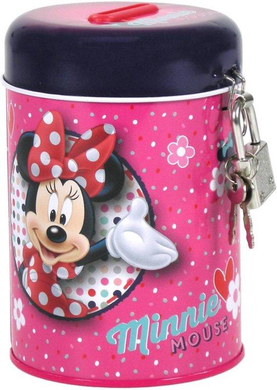 Minnie Flowers - Spaarpot 11,5 cm met slotje - Multi colour in Zevenaar