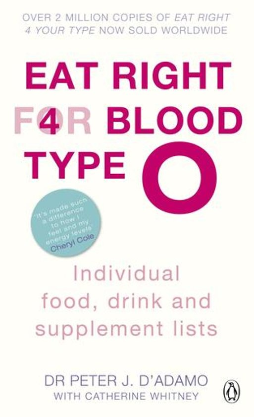 eat right 4 your type book review