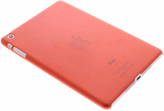 Rode Keukenapparaten : bol.com Rode transparante hardcase tablethoes – iPad Mini / 2 / 3