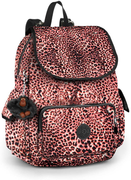 Kipling City Pack S - Rugzak - Fiesta Animal in Nieuwrode