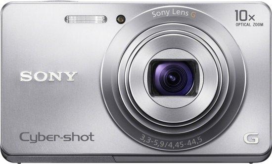 Sony Cybershot DSC-W690 - Zilver