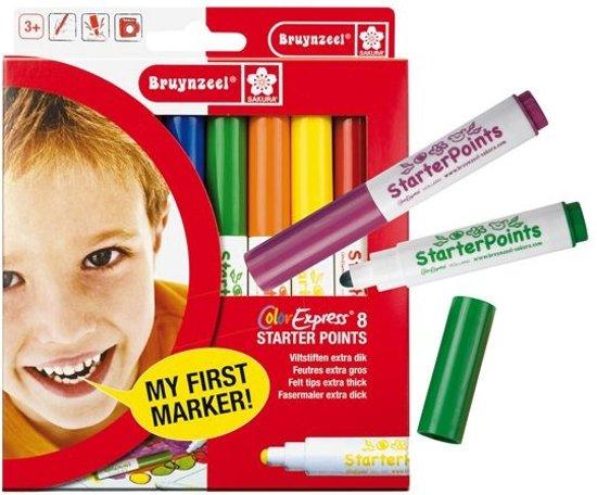 Bruynzeel Starterpoints Extra Dik - Viltstiften