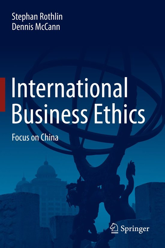 international business ethic Ethics education in business schools report of the ethics education task force to aacsb international's board of directors aacsb international- the association to advance.