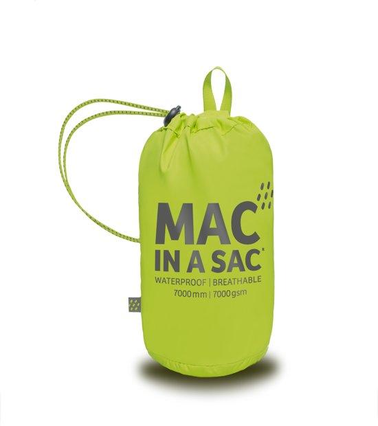 Mac in a Sac – Regenjas – Lime - XL in Tienray