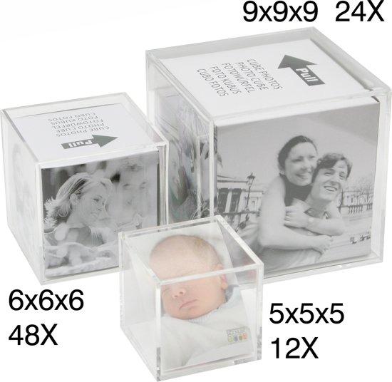 Deknudt Frames Fotokubus, 6 foto u0026#39;s fotomaat 5×5 cm kopen    ISBN 5412065538100   Interieurzoeker com