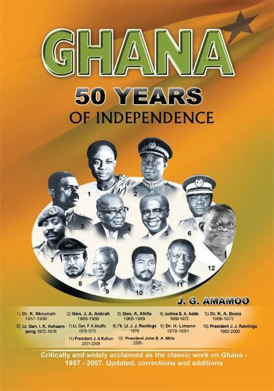 ghana 50 years on The golden jubilee edition of the ghana banking awards is themed on the challenges, and prospects, of the industry aided by the highlights given at the.