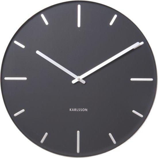 Karlsson klok belt zwart 40 cm wonen - Klok cm ...