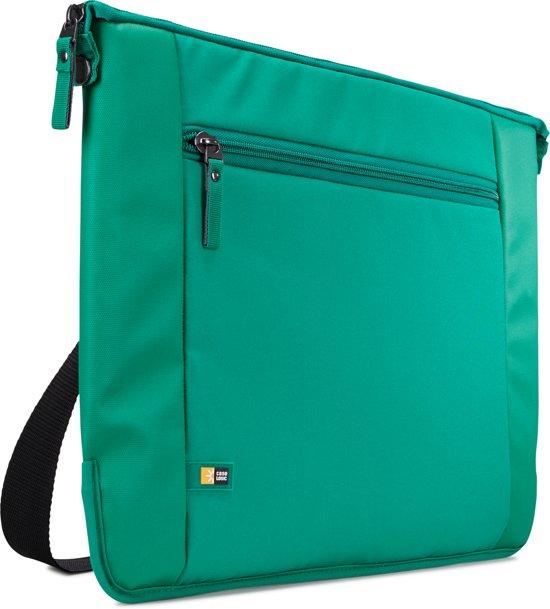Schoudertas Met Laptopvak 15 6 Inch : Bol case logic intrata laptoptas inch groen