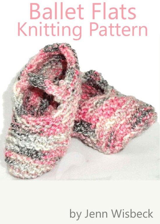 bol.com Ballet Flats Baby Knitting Pattern (ebook) Epub zonder kopieerbevei...