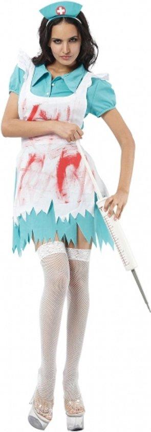 Halloween Bloederige zuster kostuum dames M/l in Tichelwurk