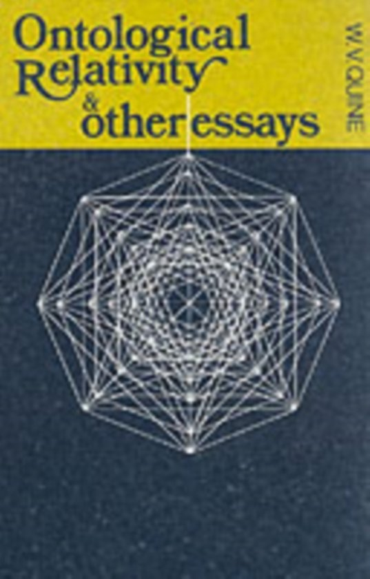 ontological relativity and other essays ebook Ontological relativity w v quine - 1968 - journal of philosophy 65 (7):185-212 ontological relativity and other essays  ontological relativity and other essays.