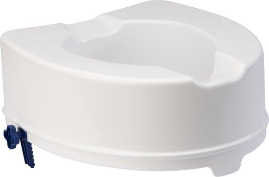 Supportshop Accessoires Toiletverhoger 14 cm met klembevestiging zonder deksel in Meemortel
