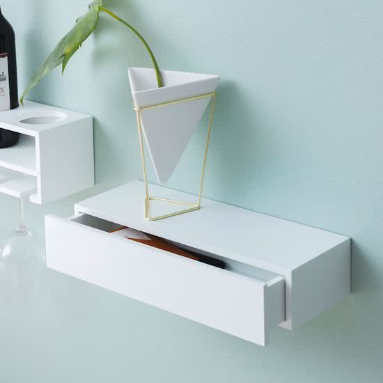 Drawer shelf white lade plank wit for Tablette duraline