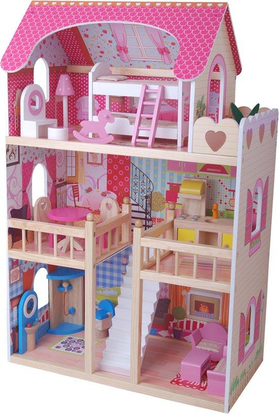 Bandits & Angels House of Angels poppenhuis met 17 delige meubelset in Kolham