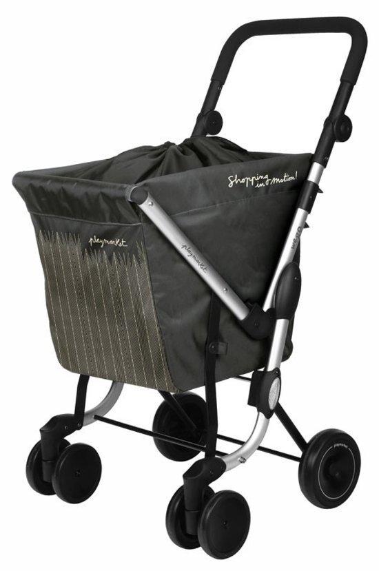 Playmarket we go trolley boodschappenwagen grijs - Chariot de course auchan ...