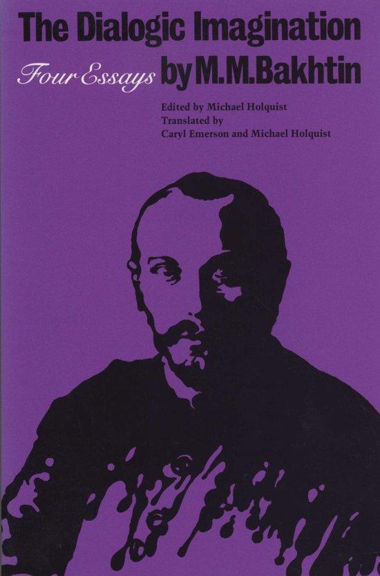 the dialogic imagination four essays by m.m bakhtin epic and novel