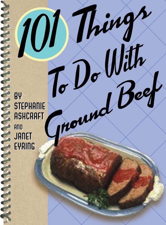 101 things to do with ground beef ebook epub for Things you can make with ground beef