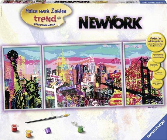 Ravensburger schilderen op nummer Trendy New York in Kinrooi