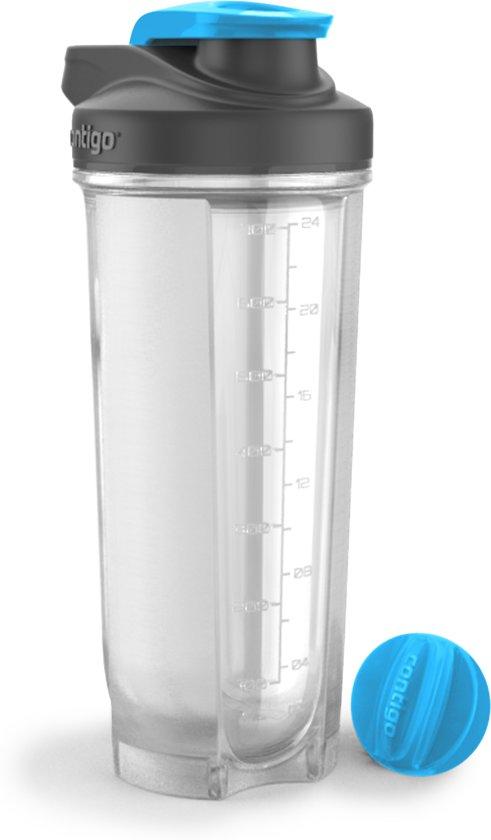 Contigo Shake & Go Fit Proteine shaker 820 ml - Blauw in Beveren-Waas