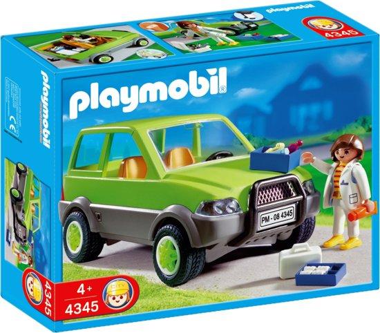 playmobil dierenarts met wagen 4345 playmobil. Black Bedroom Furniture Sets. Home Design Ideas