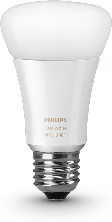 philips hue white ambiance e27 losse lamp. Black Bedroom Furniture Sets. Home Design Ideas