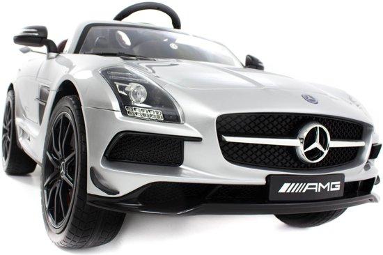 Mercedes-AMG SLS kinderauto grijs in Heemskerk