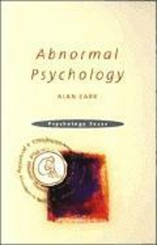 abnormal psychology case studies online Case studies in abnormal psychology case studies in abnormal psychology, by clark clipson, california school of professional psychology, and jocelyn steer, san diego family institute, contains 16 studies and can be shrink-wrapped with the text at a discounted package price.