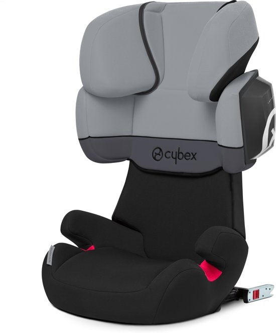 cybex solution x2 fix autostoel groep 2 3 cobblestone light grey. Black Bedroom Furniture Sets. Home Design Ideas
