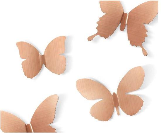 bolcom umbra wanddecoratie vlinder mariposa metaal