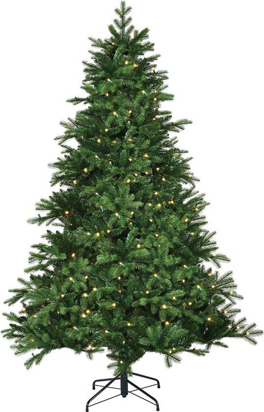 black box trees brampton kunstkerstboom hoogte 215 cm met ingebouwde verlichting. Black Bedroom Furniture Sets. Home Design Ideas