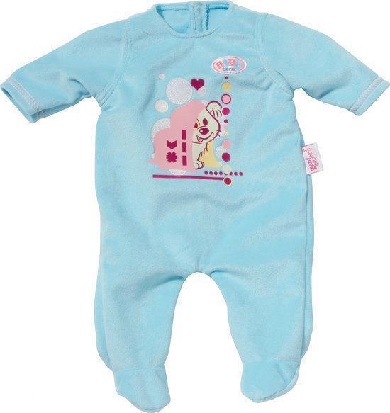 baby born slaapwel rompertje blauw. Black Bedroom Furniture Sets. Home Design Ideas