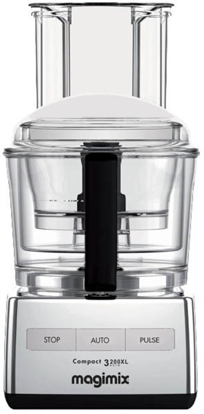 magimix compact 3200 xl foodprocessor chroom. Black Bedroom Furniture Sets. Home Design Ideas