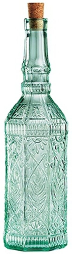 Decoratieve fles met kurk glas for Decoratie fles