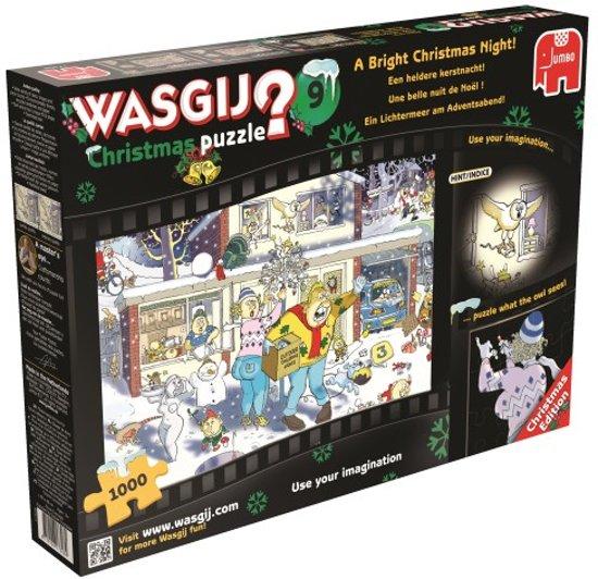 Wasgij Christmas 9 Een heldere kerstnacht - Puzzel - 1000 stukjes in Zijpersluis